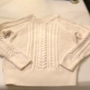 Gap cable knit cotton sweater.